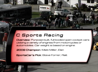 C Sports Racing & Sports 2000 2010 SCCA Runoffs