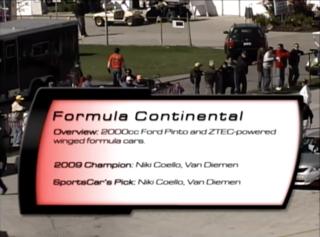 Formula Continental