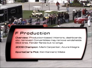 F Production 2010 SCCA Runoffs