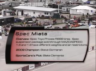 Spec Miata 2010 SCCA Runoffs
