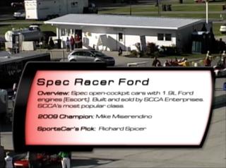 Spec Racer Ford 2010 SCCA Runoffs