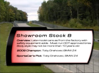 Showroom Stock B 2010 SCCA Runoffs