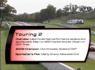 Touring 2 2010 SCCA Runoffs
