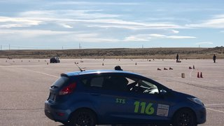 My first Autocross run. Ever!!!