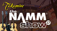 Takamine at the 2017 NAMM Show