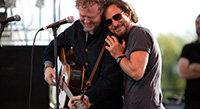 Glen Hansard and Eddie Vedder Tour Solo... Together