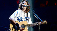 Deacon Frey Brings Eagles to Dodger Stadium