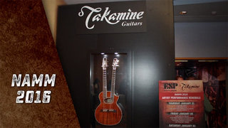 Takamine Legacy Continues at NAMM 2016