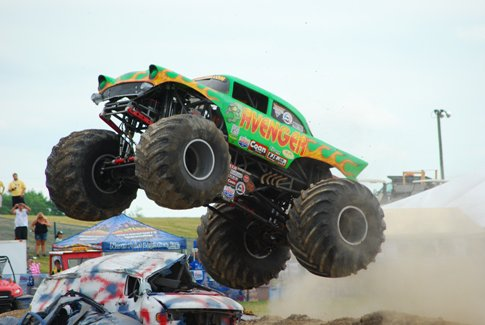 MIDWEST MONSTER TRUCKS PRESENTED BY A & D AUTO PARTS HITS