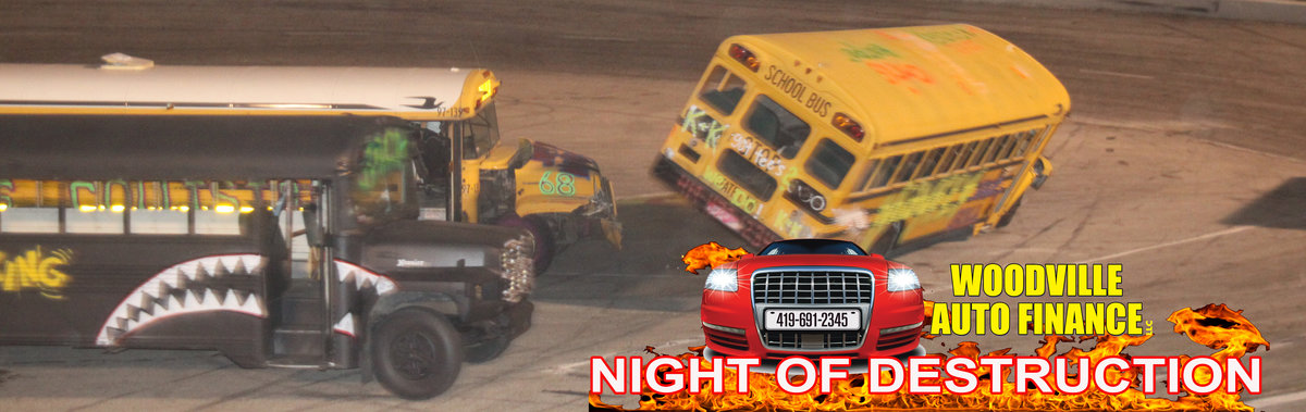 Woodville Auto Finance Night Of Destruction Bus Race May 24 At