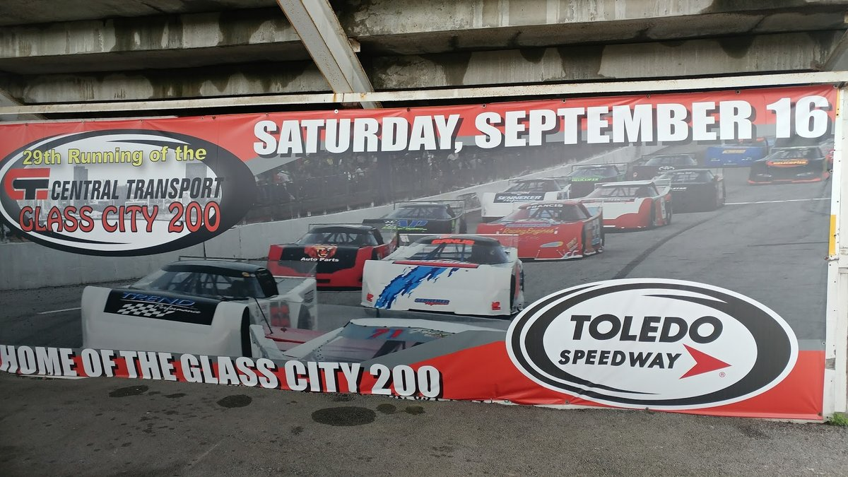 NEW FORMAT FOR CENTRAL TRANSPORT GLASS CITY 200 AT TOLEDO