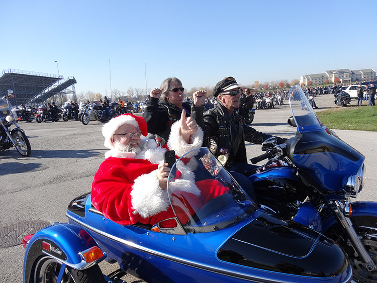 28th ANNUAL BIKERS OF NW OHIO TOY RUN NOV. 5 AT TOLEDO SPEEDWAY