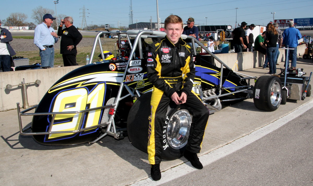 NEMIRE AMONG USAC SILVER CROWN DRIVERS LOOKING FORWARD TO TOLEDO MAY 4
