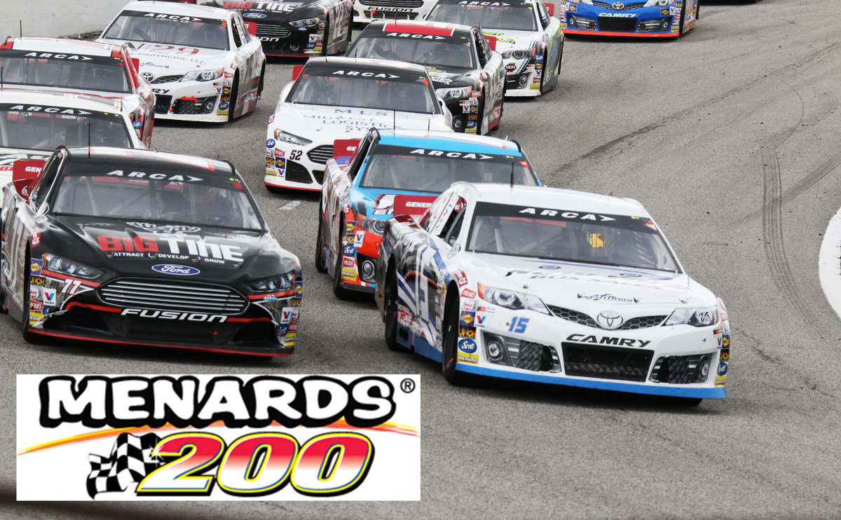 Discounted tickets on sale now at Northwest Ohio area Menards for Menards 200 at Toledo