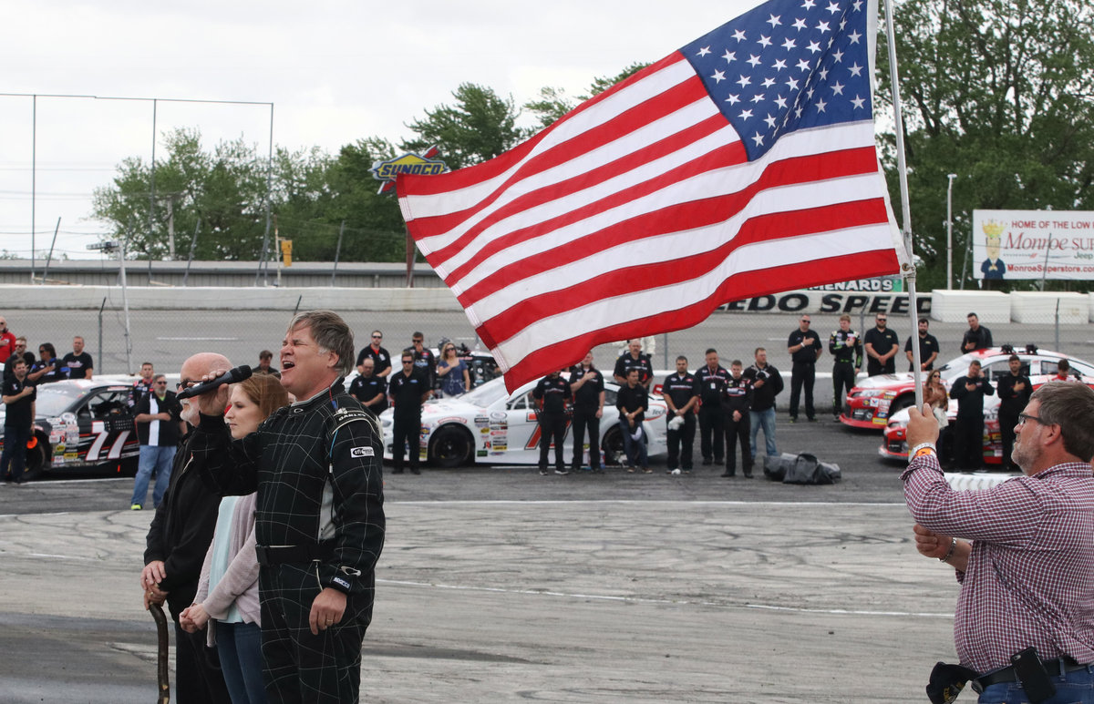 Toledo Speedway honors veterans on Armed Forces Day