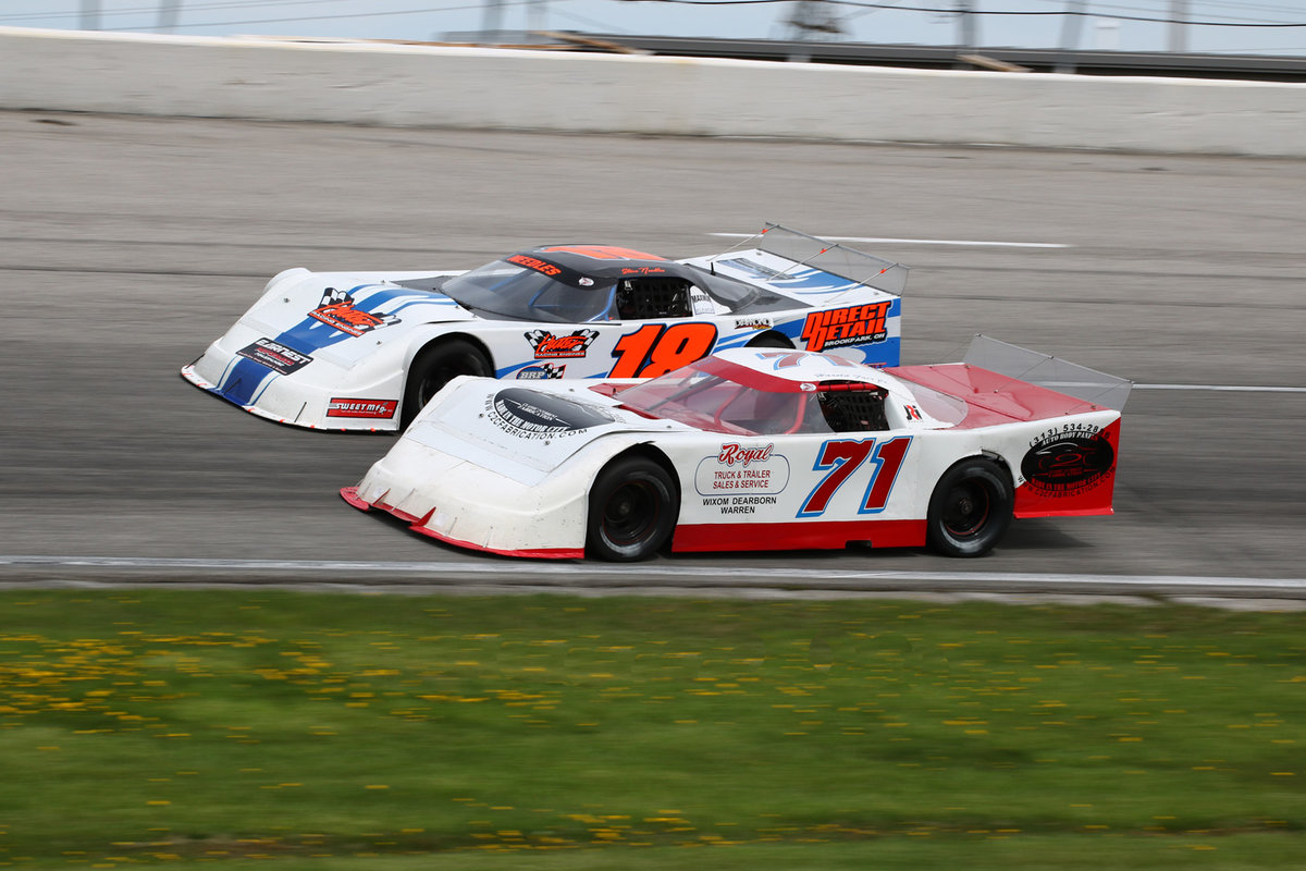 OVER 250 LAPS OF RACING FRIDAY AT TOLEDO!
