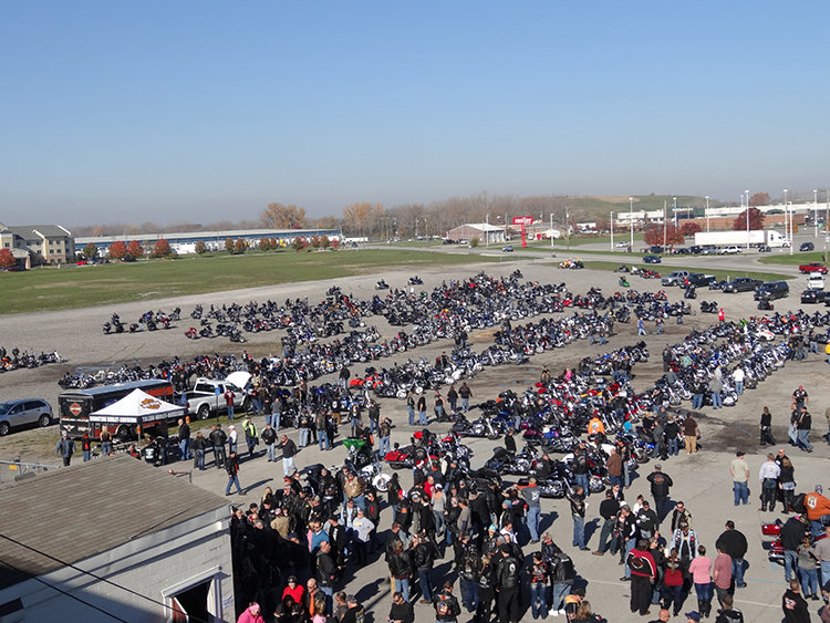 29th ANNUAL BIKERS OF NW OHIO TOY RUN NOV. 4 AT TOLEDO SPEEDWAY