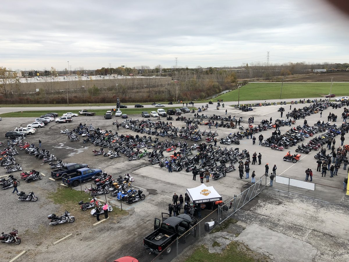 BIKERS OF NW OHIO TOY RUN BENEFITS CHILDREN SERVED AT HARBOR