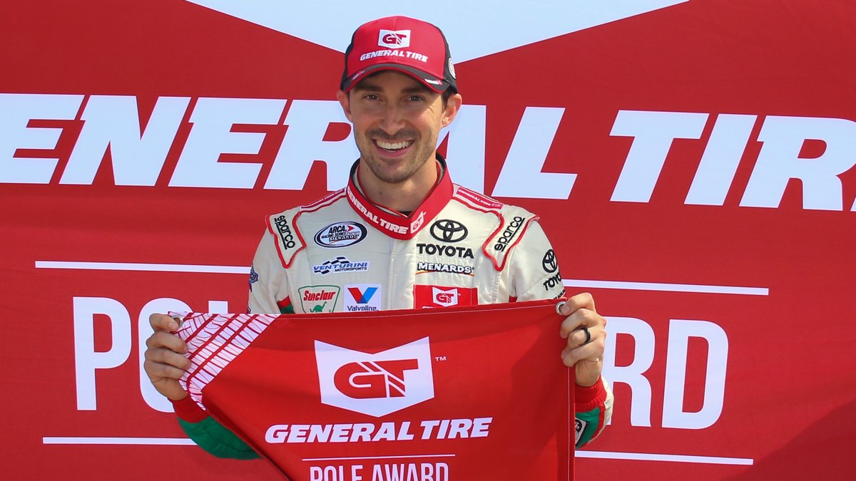 Michael Self Wins General Tire Pole Award for Sioux Chief PowerPEX 200 at Toledo Speedway