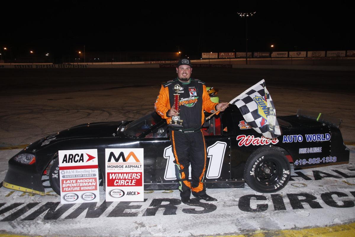 O'LEARY SCORES TOLEDO THRILLER - Toledo Speedway