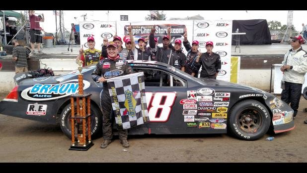 Former ARCA Sportsman Rookie of the Year Justin Haley Wins Monster Energy NASCAR Cup Series Race at Daytona