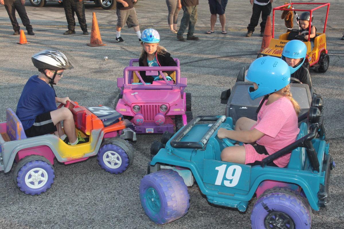KIDS POWER WHEELS DERBY DATES AT TOLEDO JULY 26, FLAT ROCK AUG. 3