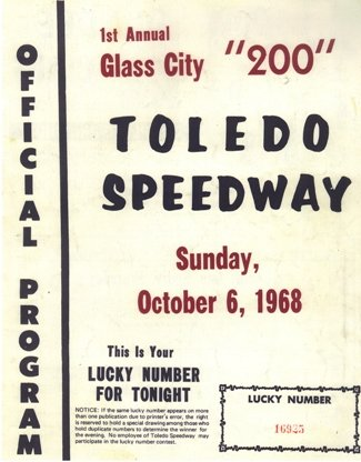 HISTORY LESSON:  GLASS CITY 200-1968, 1969