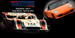Track Night in America To Be Part of The Mitty at Road Atlanta