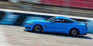 Pro Racer Takes in Track Night in America