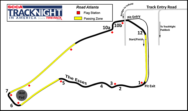 Title - Michelin Raceway Road Atlanta - Track Night in America