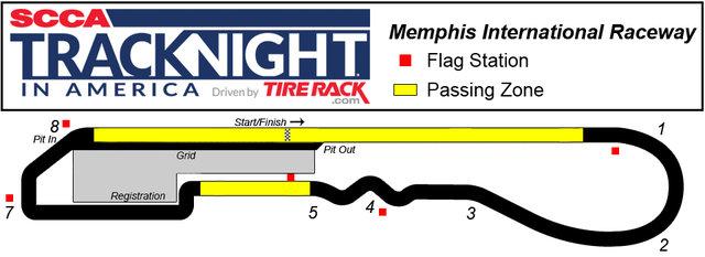 Memphis International Raceway >> Title Memphis International Raceway Track Night In America