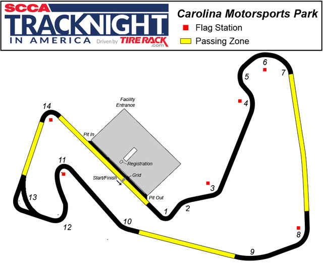 Carolina Motorsports Park >> Title Carolina Motorsports Park Track Night In America
