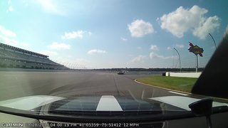Pocono KONI Novice Paced Laps from the pace car
